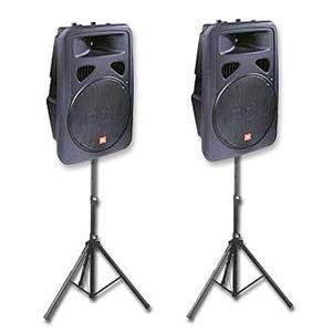 """JBL EON 15"""" Powered Playback Speakers"""